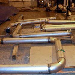 nickel piping spools fabrication